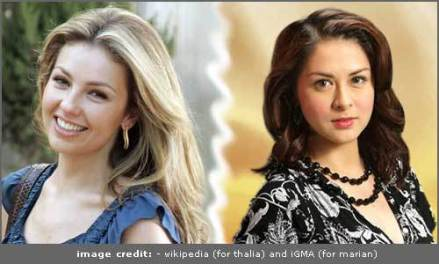 Marimar - Thalia and Marian Rivera