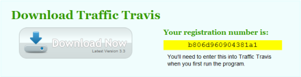 Traffic Travis Registration Code